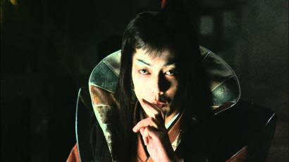 Kenji Sawada as Amakusa Shiro in the 1981 movie Makai Tensho